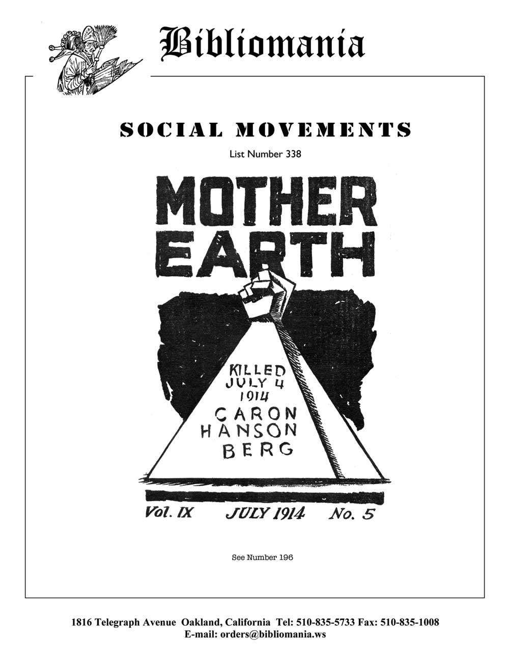 List Number 338 Social Movements
