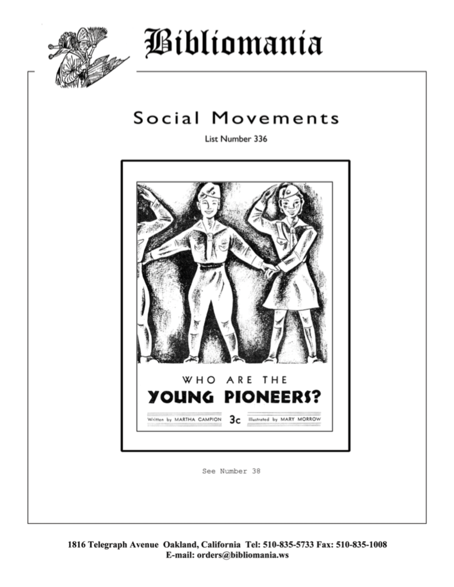 List Number 336 Social Movements