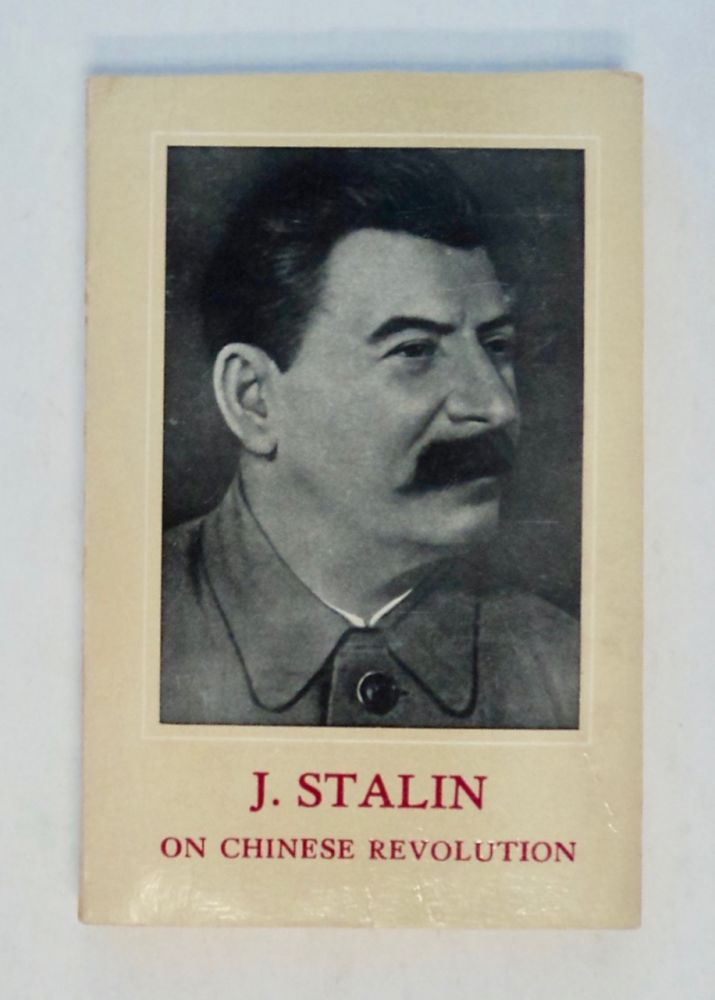 On Chinese Revolution. J. STALIN.