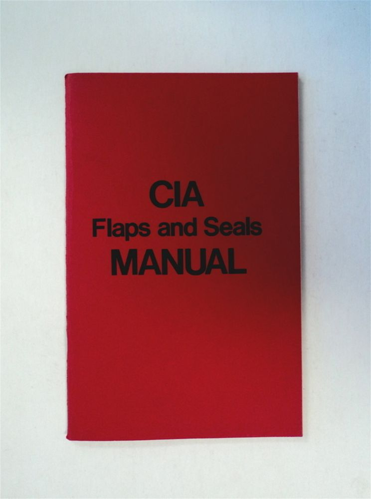 CIA Flaps and Seals Manual. John M. HARRISON, ed.