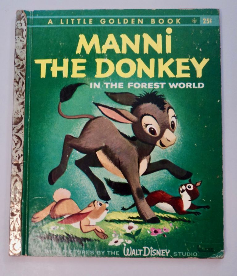 Manni the Donkey in the Forest World. BROUN.