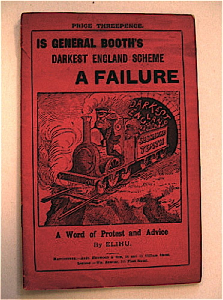 Is General Booth's Darkest England Scheme a Failure: A Word of Protest and Advice. ELIHU, SAMUEL WASHINGTON.