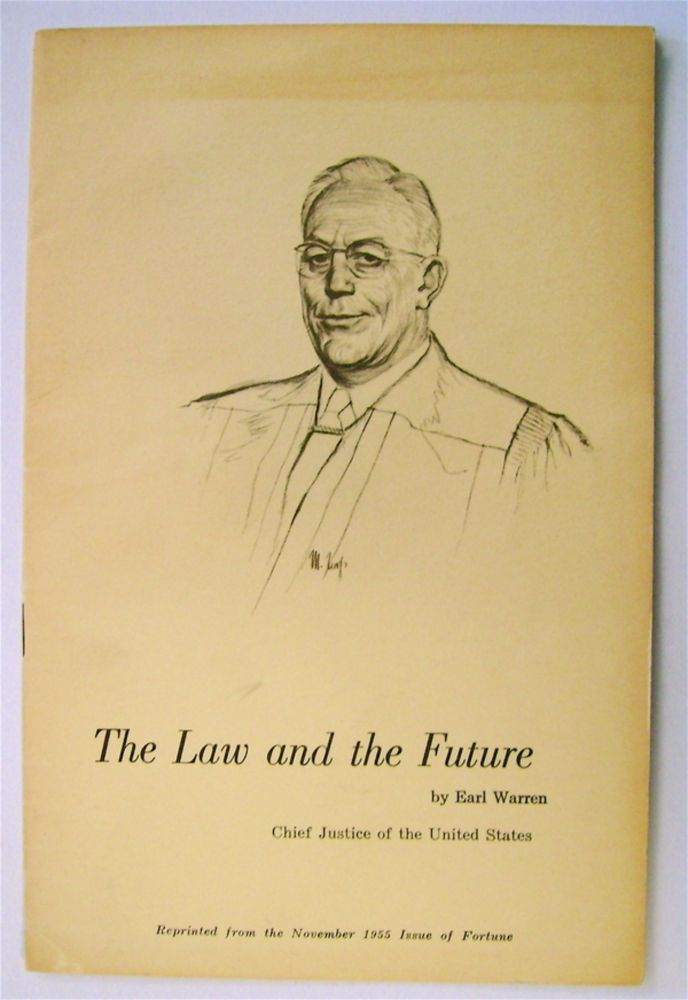 The Law and the Future. Earl WARREN.