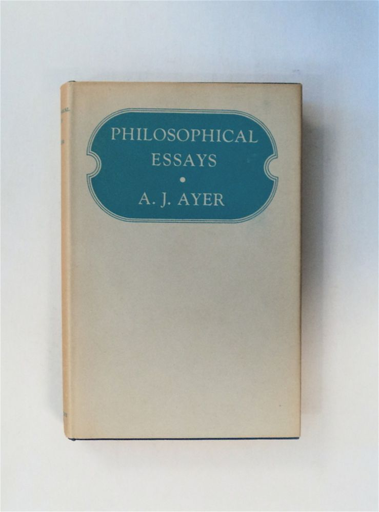 Philosophical Essays. A. J. AYER.