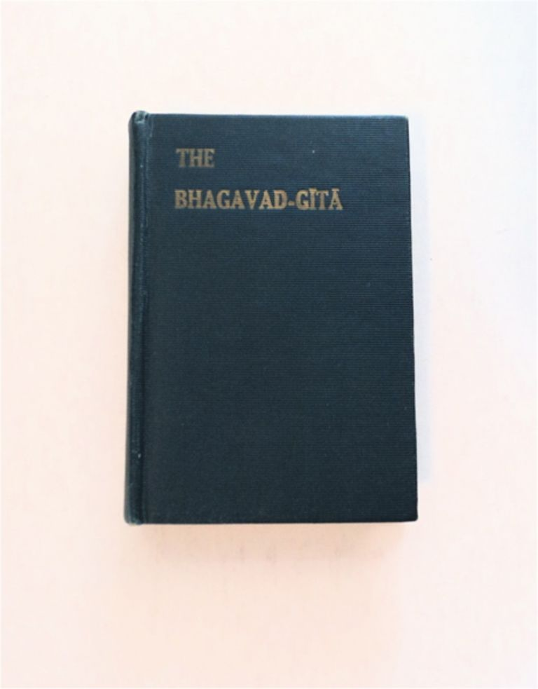 THE BHAGAVAD-GITA; OR, THE LORD'S SONG