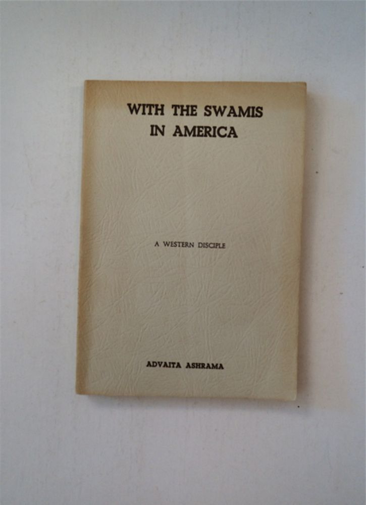 With the Swamis in America. A WESTERN DISCIPLE.