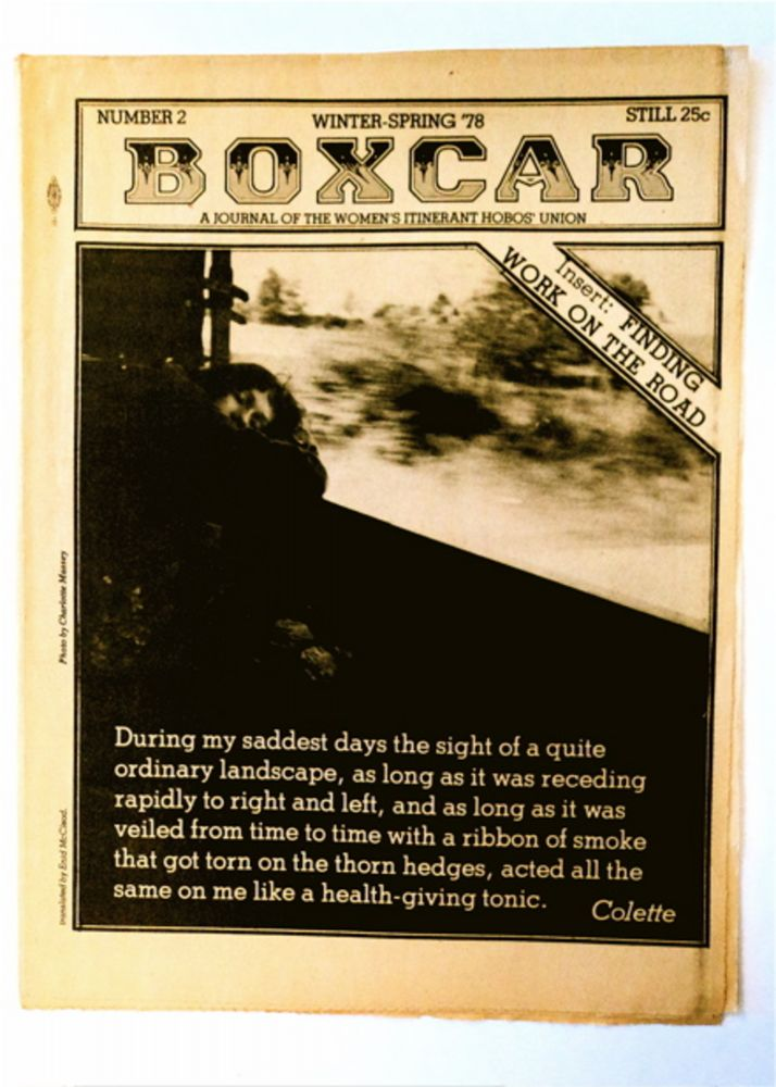 BOXCAR: A JOURNAL OF THE WOMEN'S ITINERANT HOBOS' UNION