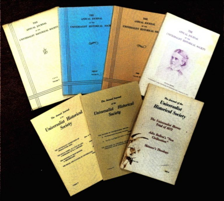 THE ANNUAL JOURNAL OF THE UNIVERSALIST HISTORICAL SOCIETY
