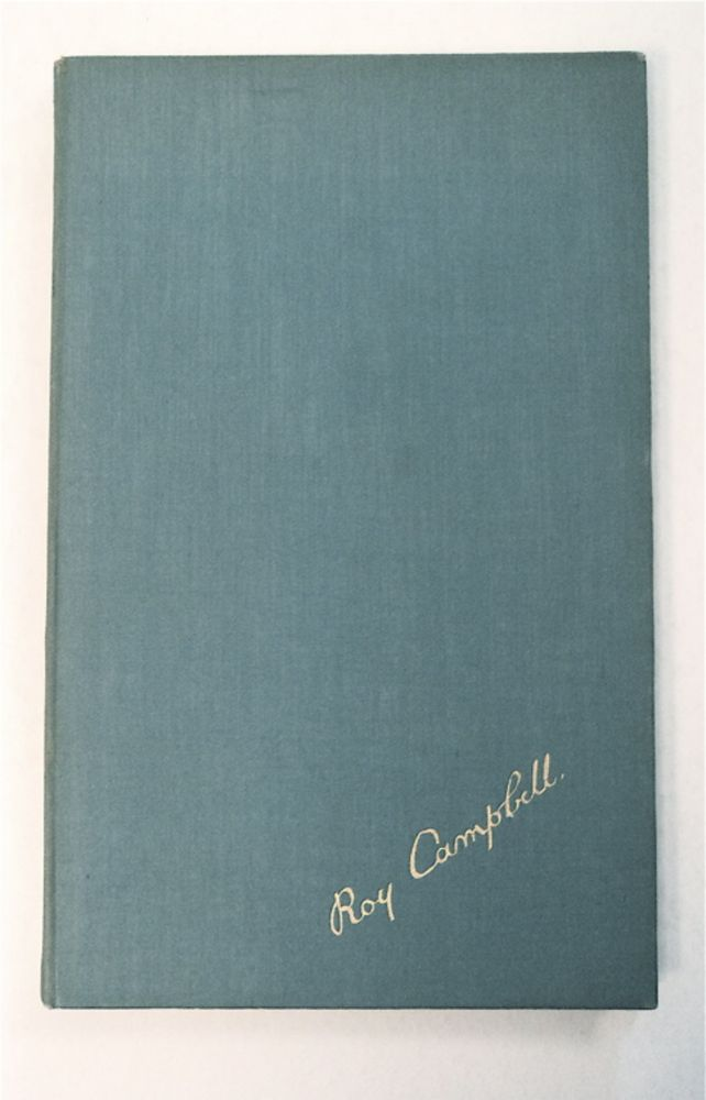 The Georgiad: A Satirical Fantasy in Verse. Roy CAMPBELL.