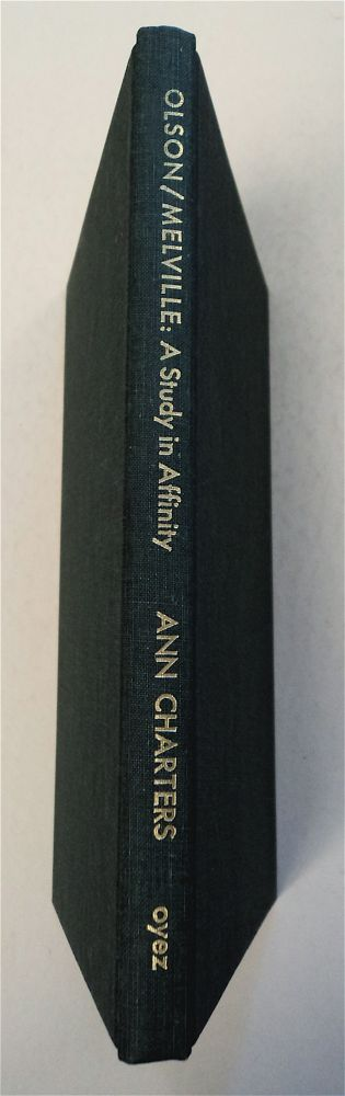 Olson / Melville: A Study in Affinity. Ann CHARTERS.