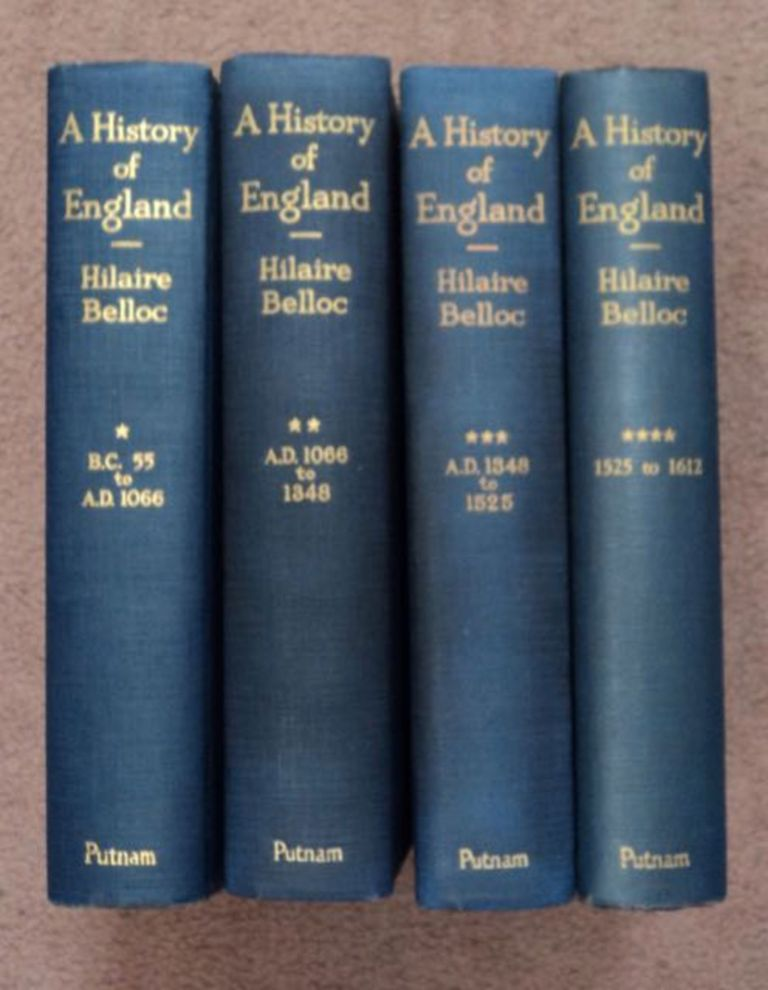 A History of England. Hilaire BELLOC.