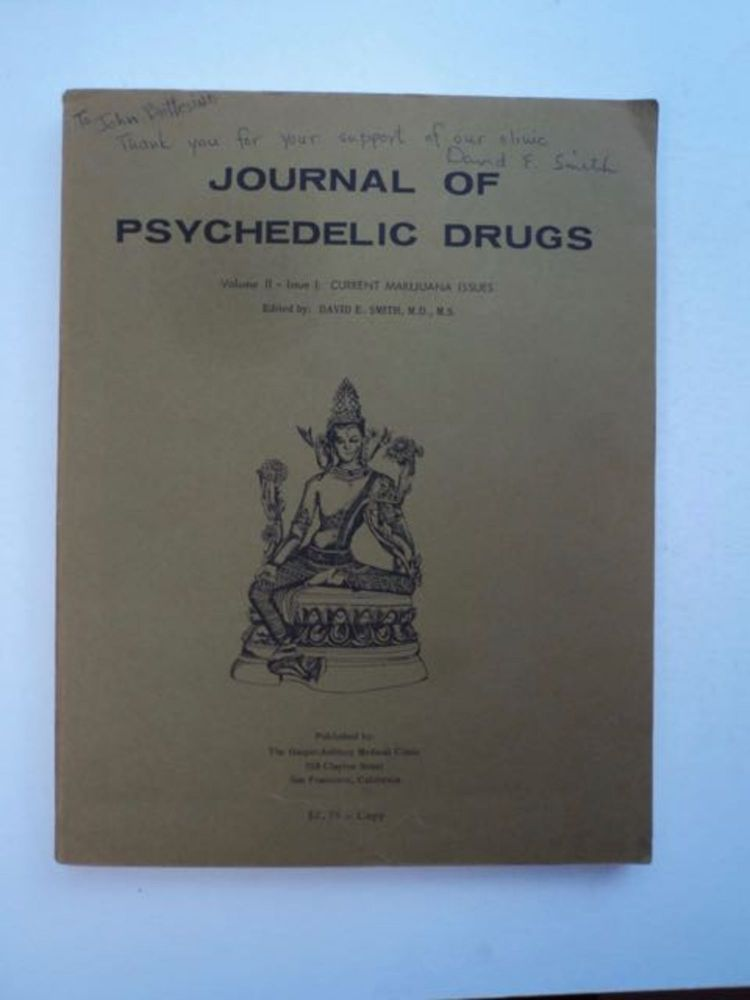 JOURNAL OF PSYCHEDELIC DRUGS