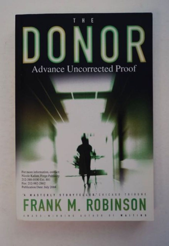 The Donor. Frank M. ROBINSON.