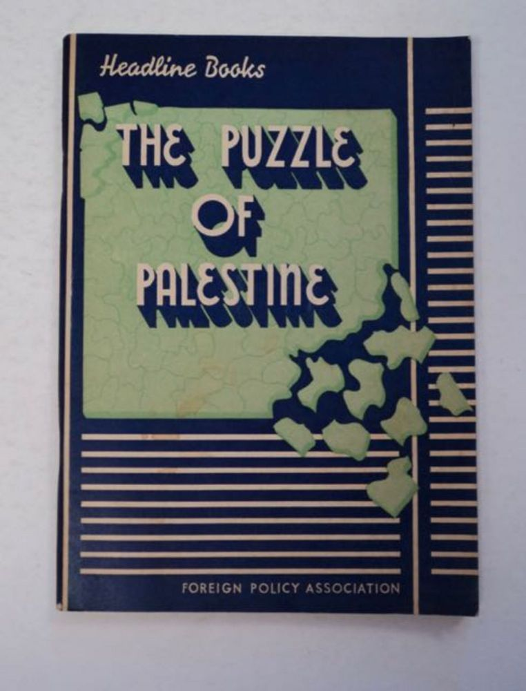 The Puzzle of Palestine. David H. POPPER.