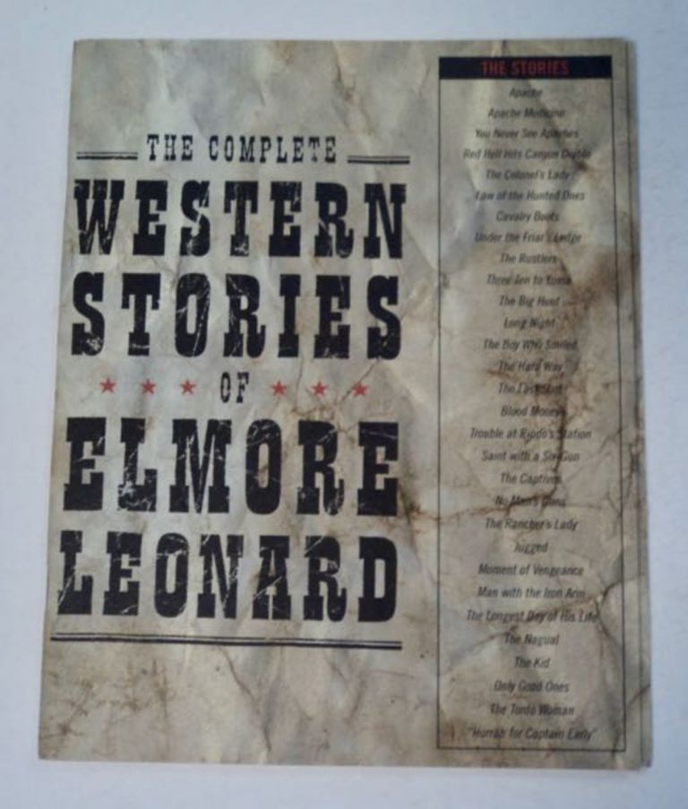 An Excerpt from The Complete Western Stories of Elmore Leonard. Elmore LEONARD.