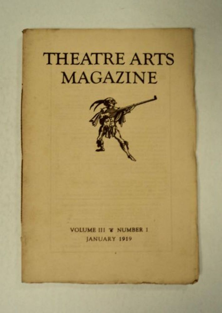 """Instead of a Theatre."" In ""Theatre Arts Magazine"" W. B. YEATS."