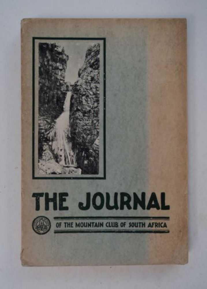 THE JOURNAL OF THE MOUNTAIN CLUB OF SOUTH AFRICA