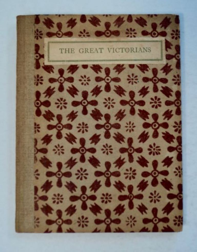 The Great Victoians: Portrait Gallery with Notes. Charles J. HOLMES.