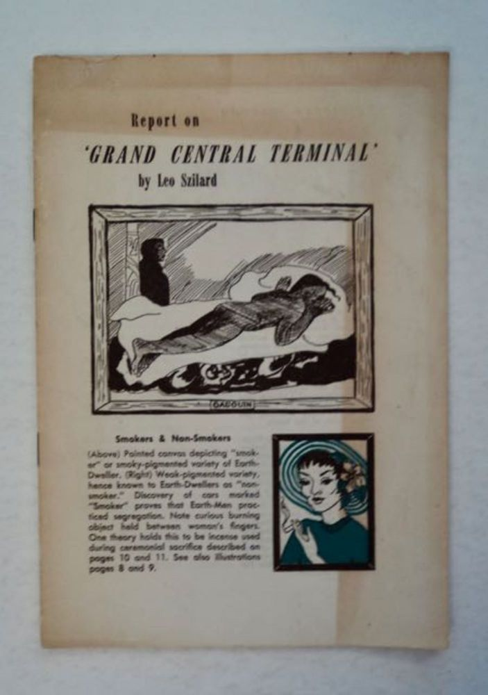 Report on 'Grand Central Terminal'. Leo SZILARD.