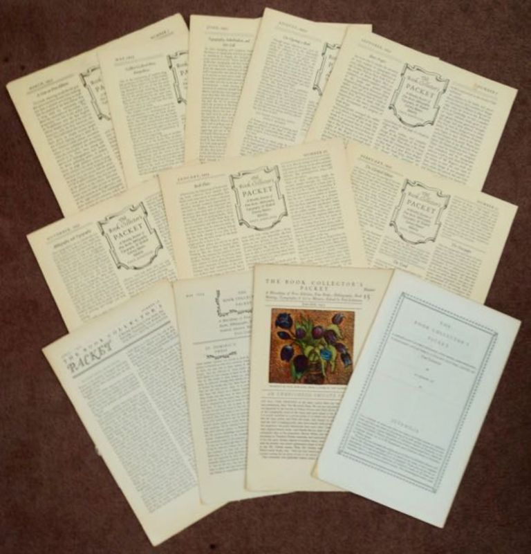 THE BOOK COLLECTOR'S PACKET