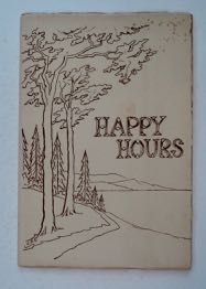 Happy Hours: Verses and Sketches. Jessie H. ROSS.