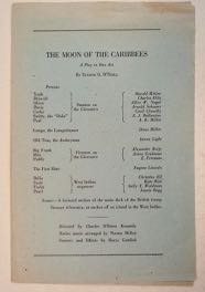 A Moon of the Caribees: A Play in One Act by Eugene O'Neill ... Trifles by Susan Glaspell ... Grotesques: A Decoration in Black and White by Cloyd Head. Eugene O'NEILL.