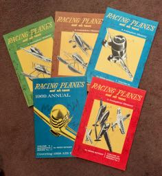 Racing Planes and Air Races: A Complete History. Reed KINERT.