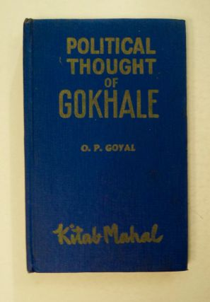 Political Thought of Gokhale