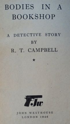 Bodies in a Bookshop: A Detective Story