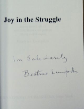 Joy in the Struggle: My Life and Love