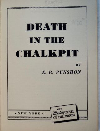 Death in the Chalk Pits