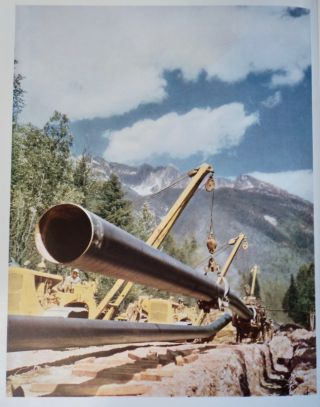 The Building of Trans Mountain, Canada's First Oil Pipeline across the Rockies