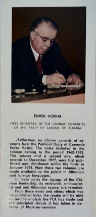 Reflections on China 1962-1977: Extracts from the Political Diary