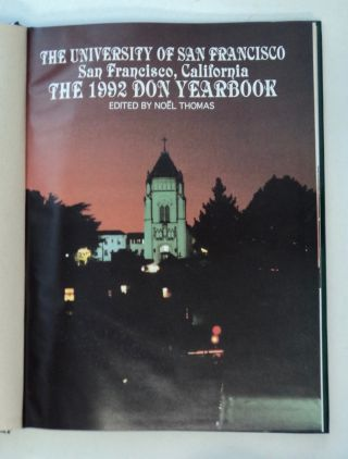 The University of San Francisco, California: The 1992 Yearbook