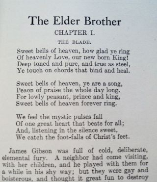 The Elder Brother: A Dawn Thought Sketch