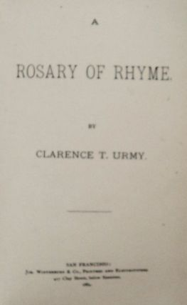 A Rosary of Rhyme
