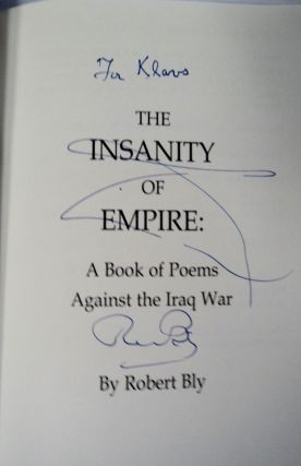 The Insanity of Empire: A Book of Poems against the Iraq War