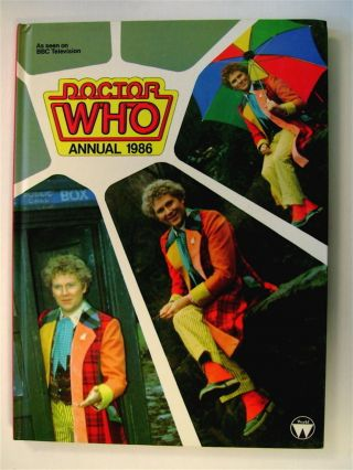 DOCTOR WHO ANNUAL 1986