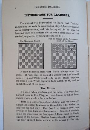 How to Play Scientific Draughts