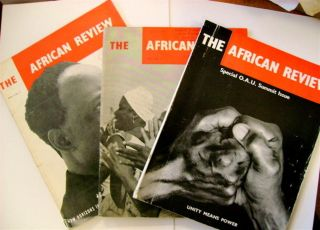 THE AFRICAN REVIEW