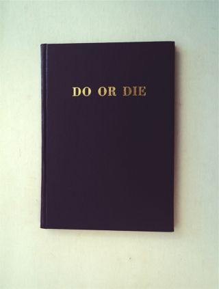 Do or Die: A Supplementary Manual on Individual Combat Showing Advanced Science in Bayonet,...