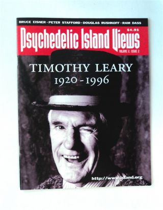 Psychedelic Island Views. Timothy LEARY