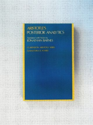 Aristotle's Posterior Analytics. ARISTOTLE