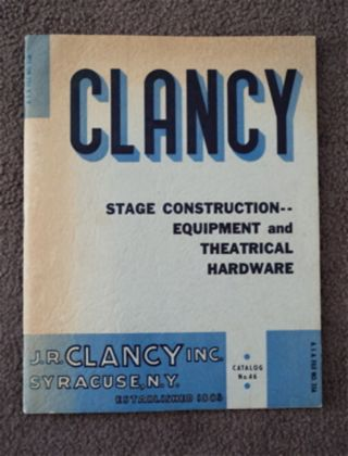 Clancy Stage Construction -- Equipment and Theatrical Hardware