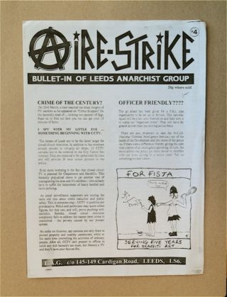 AIRE-STRIKE: BULLET-IN OF LEEDS ANARCHIST GROUP