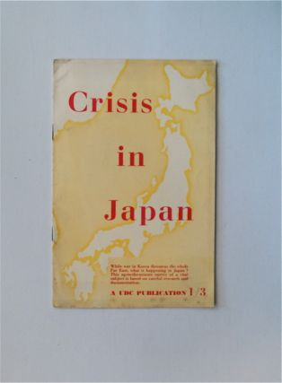 Crisis in Japan. UNION OF DEMOCRATIC CONTROL