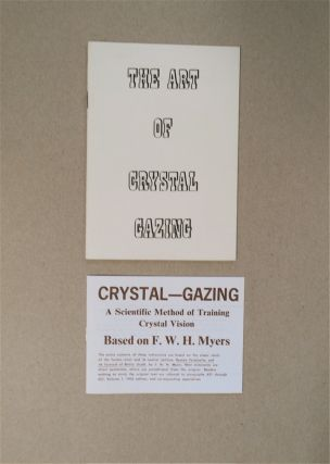HOW TO SCRY (cover title: The Art of Crystal Gazing
