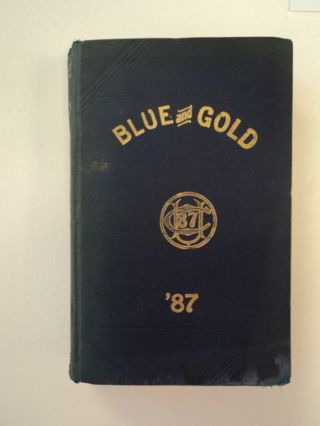 THE BLUE AND GOLD, VOL. XIII
