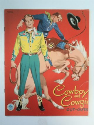 COWBOY AND COWGIRL CUT-OUTS