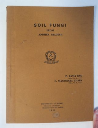 Soil Fungi from Andhra Pradesh. P. RAMARAO, C. Manoharachary